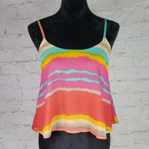 Lucy Love colorful swing top size XSmall